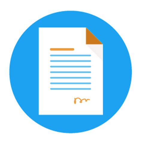 Cover letter document name