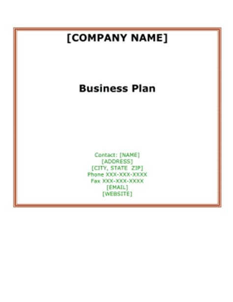 Laundry Business Plan Template Free Word Doc & Excel